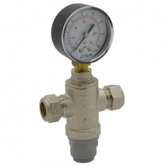 Intatec - 15mm mini Pressure Reducing Valve with Gauge MINIPRVG 11391510