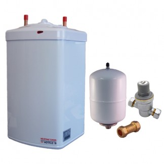Heatrae Sadia - Hotflo 10 Litre Instant Water Heater 50148 & Unvented Kit B