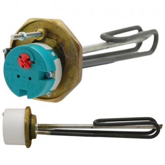 "Thermco - 1 3/4"" 3kW Immersion Heater 11"" for Unvented Cylinders"