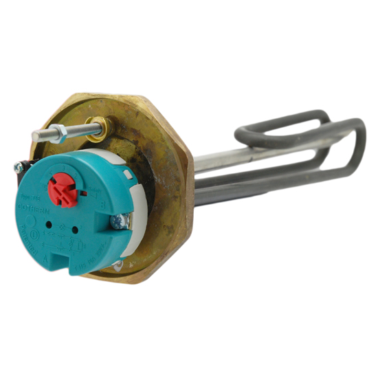 "Cotherm 1 1//2/"" BSP Immersion Heater  3KW 340-WSRYP"