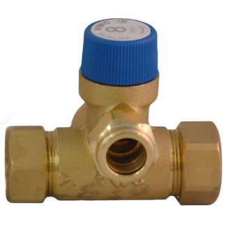 """Reliance - 3/4"""" FBSP 8 Bar Core Unit Pressure Relief Manifold with Expansion Vessel Connection CORE216000"""
