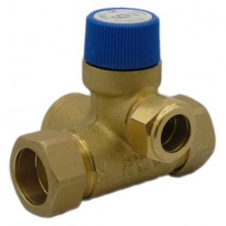 """Reliance - 3/4"""" FBSP 6 Bar Core Unit Pressure Relief Manifold with Expansion Vessel Connection CORE216001"""