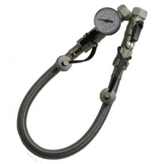 Altecnic - 15mm Remote Filling Loop Hose & Guage ALT-ST0035