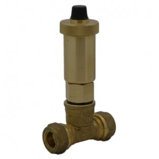 Intatec - iAir Vent Automatic Air Vent Valve & 15mm Tee AAV007