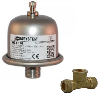 Reliance - Aquasystem Water Hammer Shock Arrestor Absorber WSA016