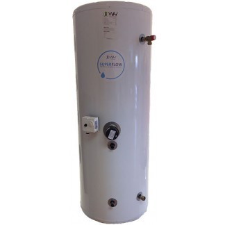World Heat Cylinder - Stainless Superflow Indirect 120 Litre