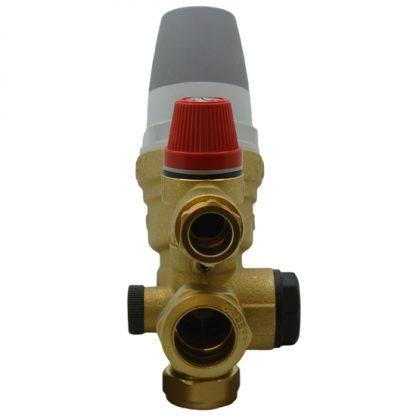 Caleffi - 2/3 Bar 22mm Inlet Control Multibloc Valve Group