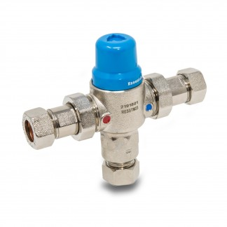 22mm 2in1 Thermostatic Mixing Valve TMV2/3