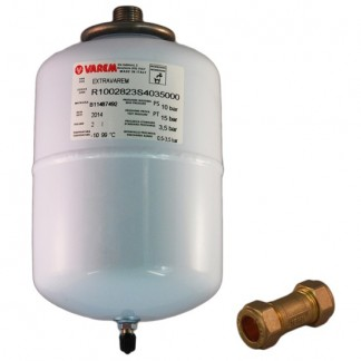 2 Litre Water Heater Expansion Vessel & 15mm Check Valve Kit A