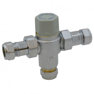 Altecnic - Caleffi 22mm Thermostatic Mixing Valve TMV2 TMV3 WRAS CA-100824