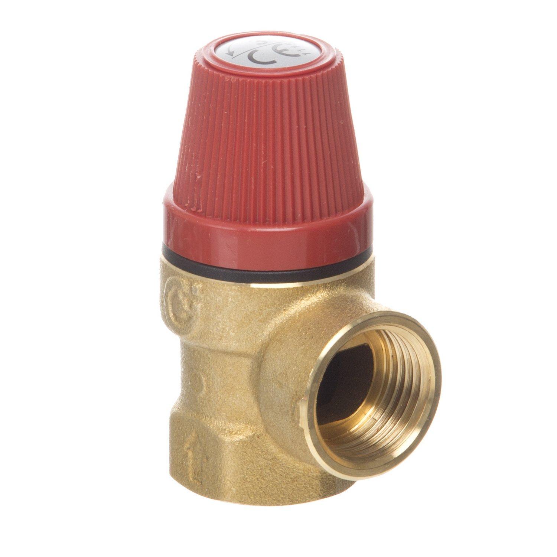 Boiler Safety Pressure Relief Valve 1//2FxF BSP Various presure 6 BAR