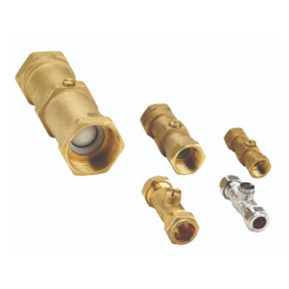 "FLOW230008 - 1.1/4"" FBSP Floguard Double Check Valve"