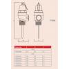 "Reliance - PTEM600001 - 3/4"" FVMX 7.0 Bar Pressure & Temperature Relief Valve Dimensions"