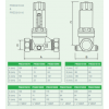 "Reliance - PRED315010 - 1/2""MBSP 315i Adjustable Pressure Reducing Valve 1.5-6.0 Bar"