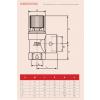 "Reliance - PREL100041 - 1.1/2""x2""FBSP 3 Bar Pressure Relief Valve"