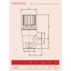 "Reliance - PREL101016 - 1/2"" M*FBSP 3.0 Bar Pressure Relief Valve"