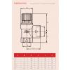 "Reliance - PREL104012 - 1.1/2""*2""F*FBSP 6.0 Bar Pressure Relief Valve"