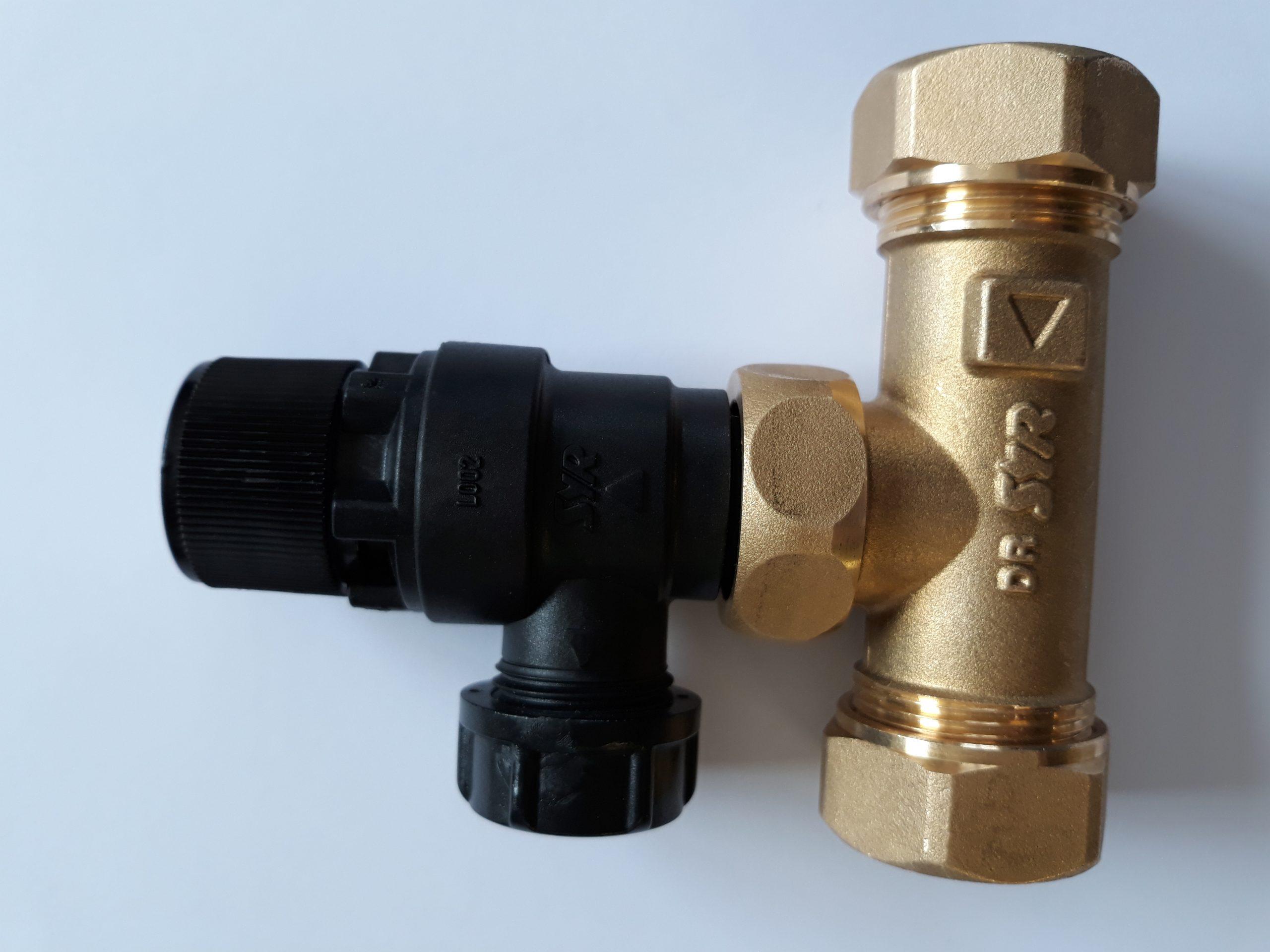Albion SU006 Pressure /& Temperature Relief Valve with 200mm Probe