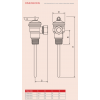 Reliance - PTEM510003 - 15mm TPR15L 6.0 Bar Temperature & Pressure Relief Valve Dimensions