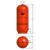 1300070000 - Zilmet 700 Litre Cal-Pro Heating Expansion Vessel