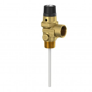 Flamco Prescor T&P - 7 bar 22mm Temperature and Pressure Relief Valve