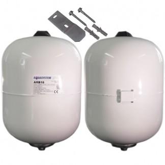 Reliance - Aquasystem 18 Litre 3.5 Bar Potable Expansion Vessel C/W Bracket XVES050056