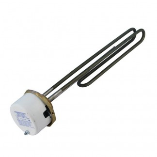 "Heatrae Sadia Megaflo 3kw Immersion Heater 11"" OEM (With Thermostat) 95606920-Immersion Heater + Thermostat"