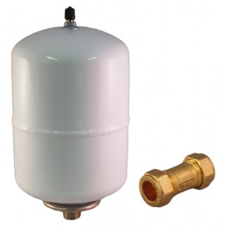 2 Litre Water Heater Expansion Vessel Kit (Kit A) And Bracket