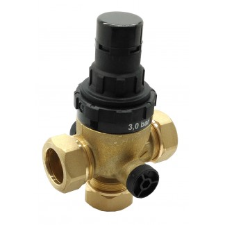 Heatrae Sadia Megaflo - 3 Bar 22mm Preset Pressure Reducing Valve - 95605886