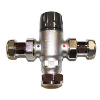 Manco Powerstream thermostatic mixing valve 22mm