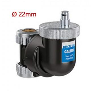 Caleffi DISCALSLIM Orientable Deaerator For 22mm Copper Pipe 551802