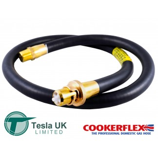 "Tesla 4ft x 1/2"" Straight Bayonet Cooker Hose BS669 - THN140"