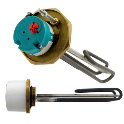 "1"" 3/4"" 3kW Immersion Heater 14"""