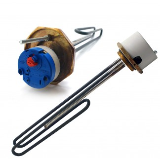 """14"""" Immersion Heater Element FC SS IMMERSION 2"""" Boss"""