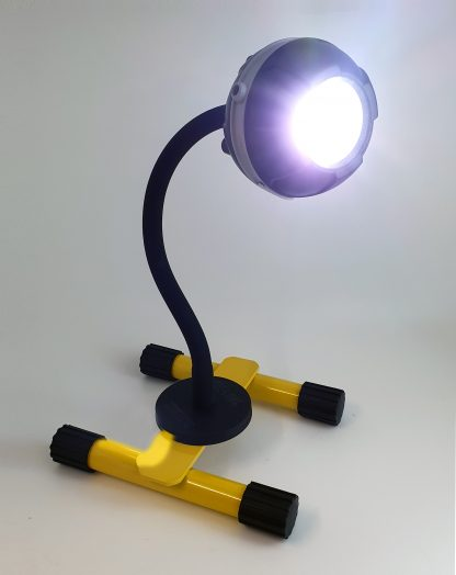 Gloforce Eye-light Plus 10w rechargeable floodlight with 270mm magnetic gooseneck. Stand included