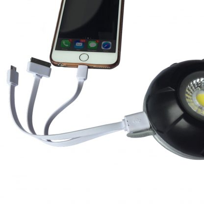 Gloforce Eye-light pro 10w rechargeable floodlight with 450mm magnetic gooseneck. Stand included